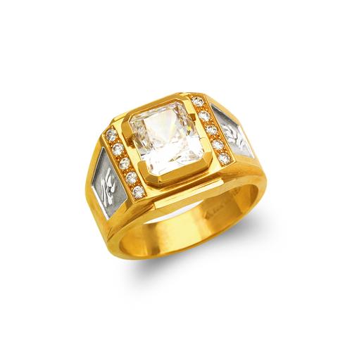 473-027 Men's Fancy CZ Ring