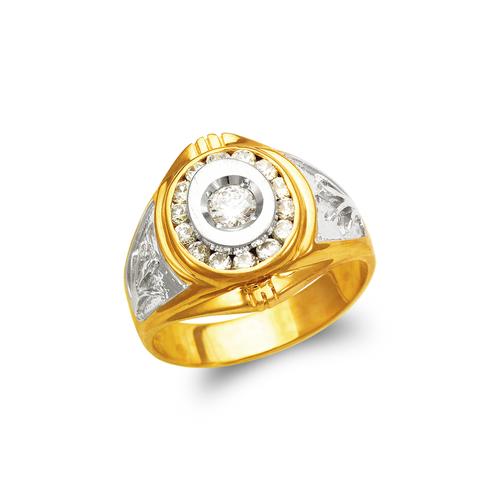 473-047 Men's Fancy CZ Ring