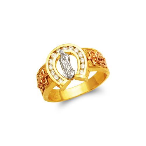 473-051 Men's Fancy Guadalupe CZ Ring