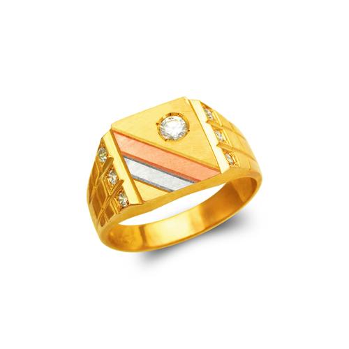 473-070 Men's Fancy CZ Ring