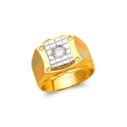 473-073 Men's Fancy CZ Ring