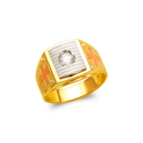 473-074 Men's Fancy CZ Ring