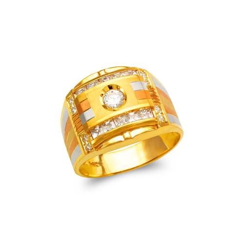 473-075 Men's Fancy CZ Ring