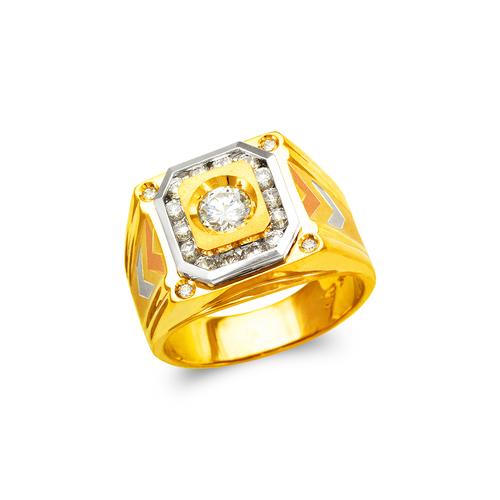 473-076 Men's Fancy CZ Ring