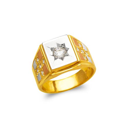 473-077 Men's Fancy CZ Ring