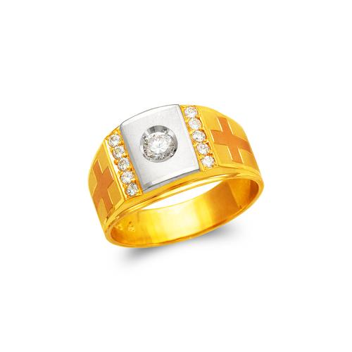 473-078 Men's Fancy CZ Ring