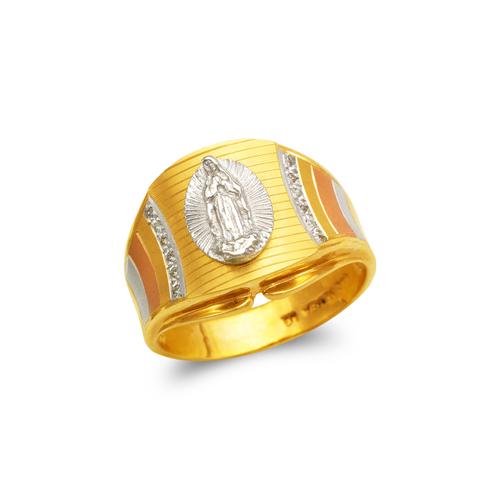 473-203 Men's Fancy Guadalupe CZ Ring