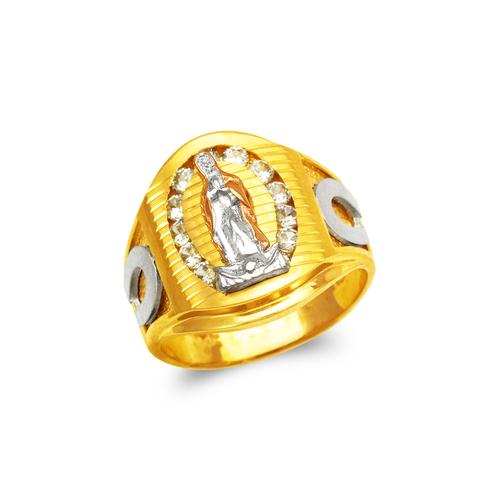 473-204 Men's Fancy Virgin Mary CZ Ring