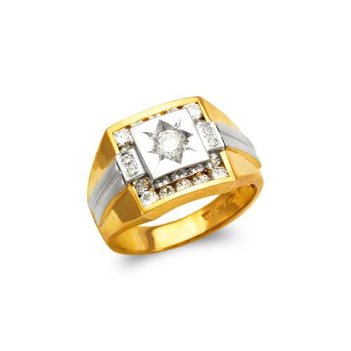 473-216 Men's Fancy CZ Ring