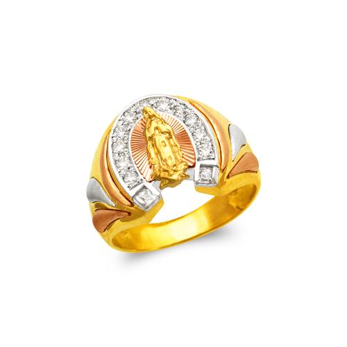 473-221 Men's Fancy Guadalupe CZ Ring