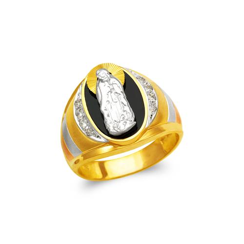 473-228 Men's Fancy Guadalupe CZ Ring