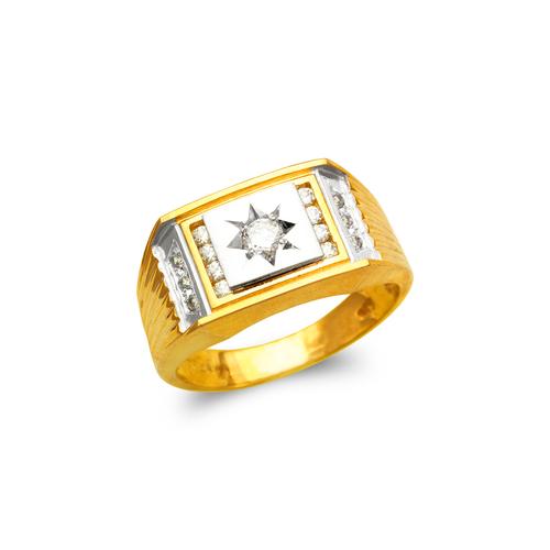 473-238 Men's Fancy CZ Ring