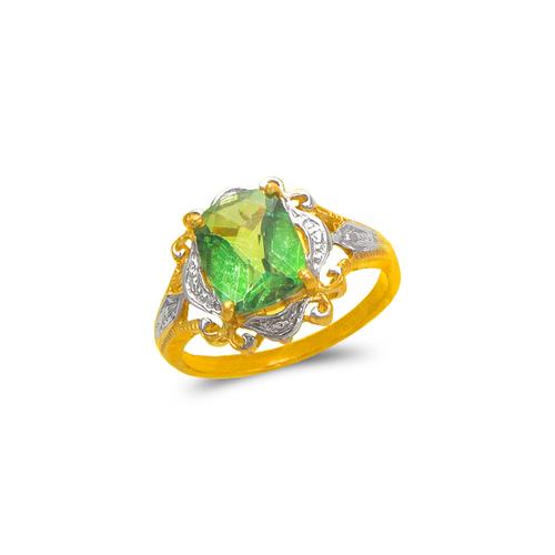 575-101B Ladies Mystic CZ Ring