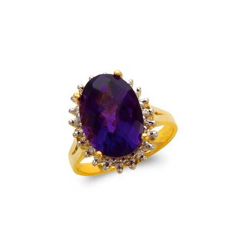 575-102B Ladies Mystic CZ Ring