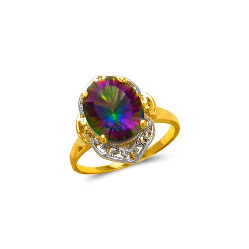 575-103B Ladies Mystic CZ Ring