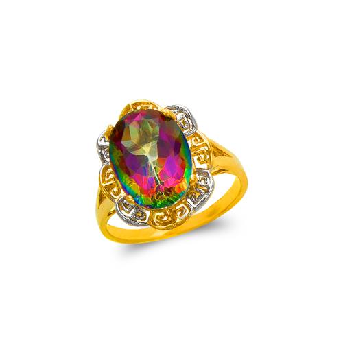575-104B Ladies Mystic CZ Ring