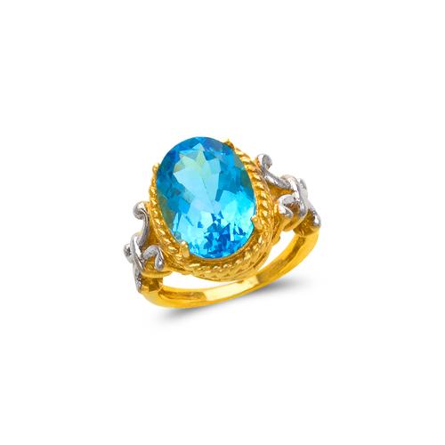 575-105A Ladies Mystic CZ Ring