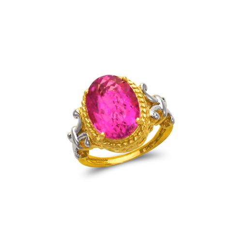 575-105B Ladies Mystic CZ Ring