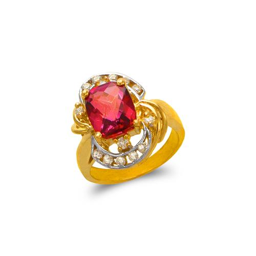 575-106A Ladies Mystic CZ Ring
