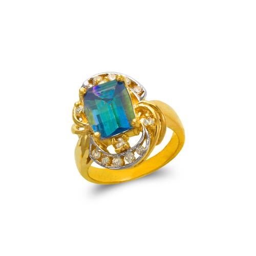 575-106B Ladies Mystic CZ Ring
