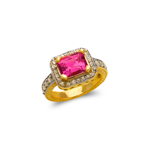 575-108A Ladies Mystic CZ Ring