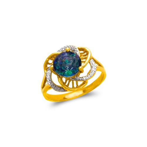 575-109B Ladies Mystic CZ Ring