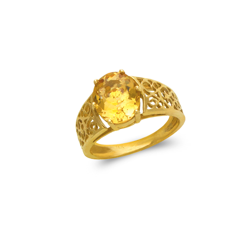 575-110B Ladies Mystic CZ Ring