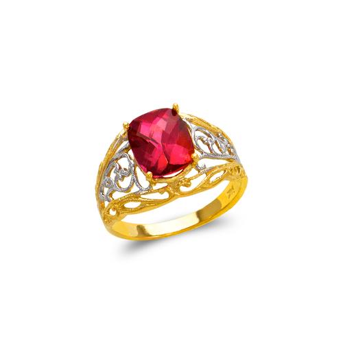 575-111A Ladies Mystic CZ Ring