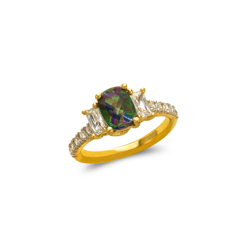 575-115 Ladies Mystic CZ Ring