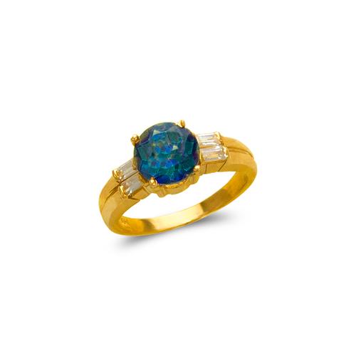 575-118 Ladies Mystic CZ Ring