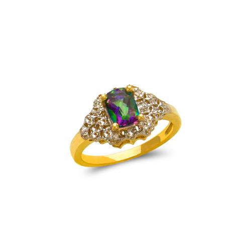 575-121 Ladies Mystic CZ Ring