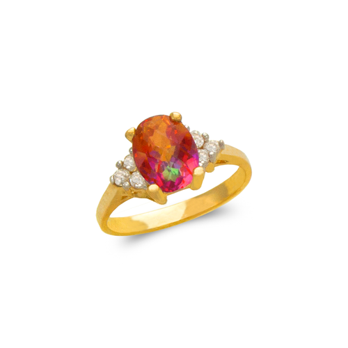 575-122 Ladies Mystic CZ Ring