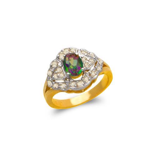 575-128 Ladies Mystic CZ Ring