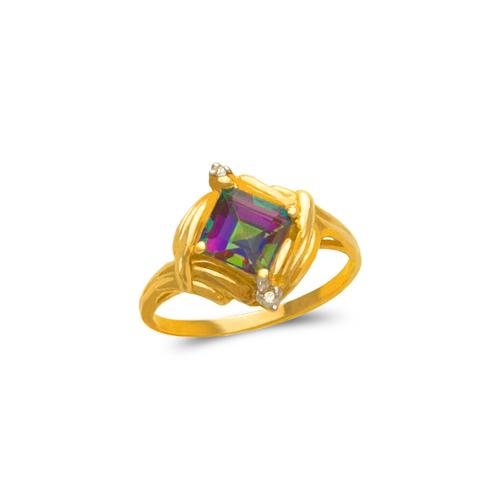 575-129 Ladies Mystic CZ Ring
