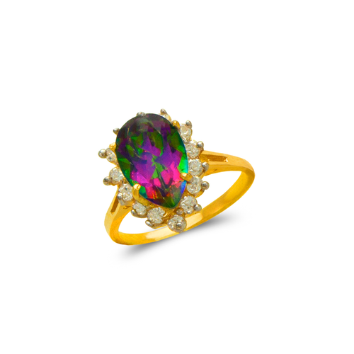 575-136 Ladies Mystic CZ Ring