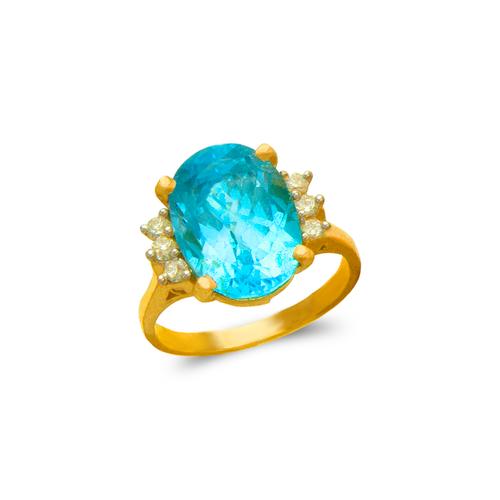 575-138 Ladies Mystic CZ Ring