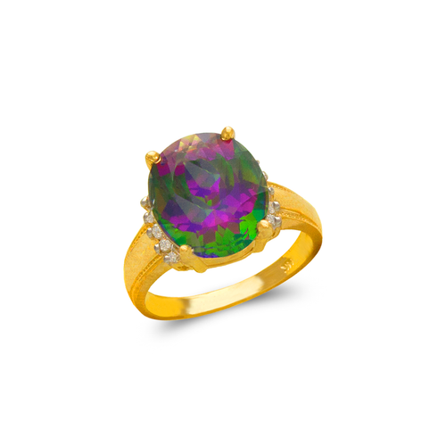 575-139 Ladies Mystic CZ Ring