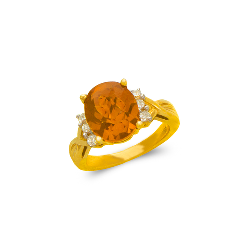 575-140 Ladies Mystic CZ Ring
