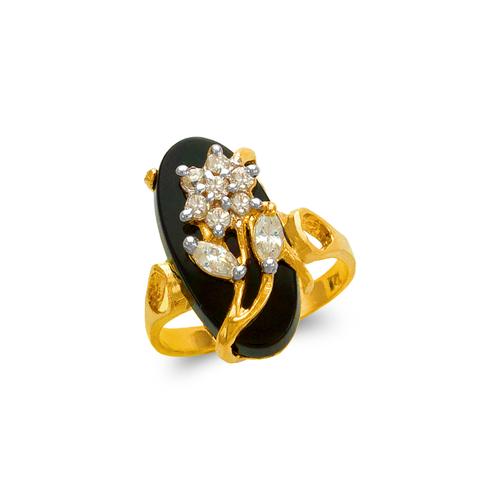 576-001 Ladies Onyx Ring