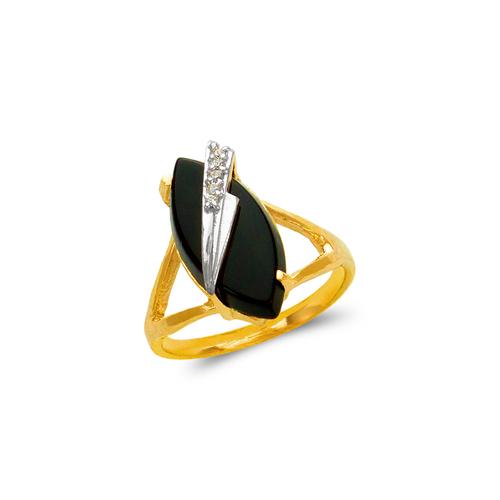 576-002 Ladies Onyx Ring