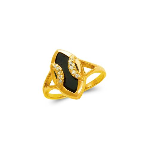 576-004 Ladies Onyx Ring