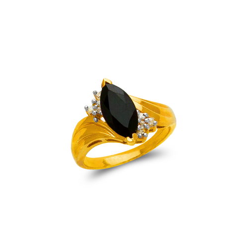 576-005 Ladies Onyx Ring
