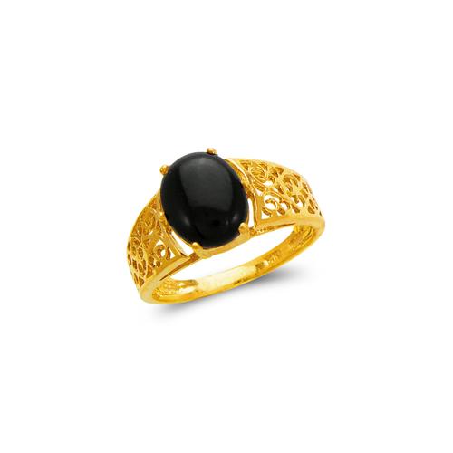 576-006 Ladies Onyx Ring
