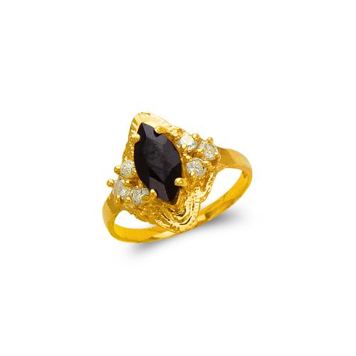576-007 Ladies Onyx Ring