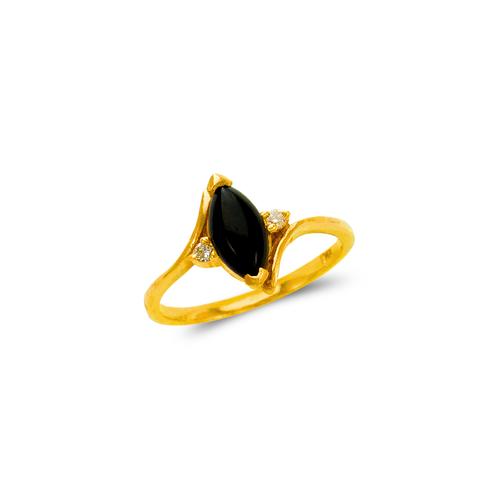 576-008 Ladies Onyx Ring