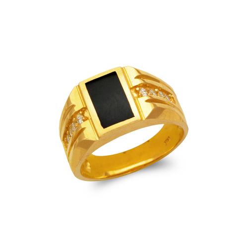 576-307 Men's Full Cut Onyx Ring