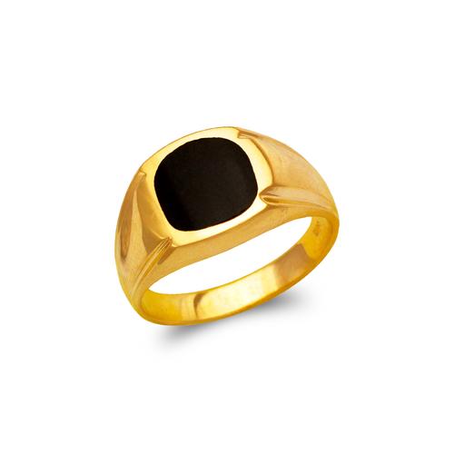 576-311 Men's Full Cut Onyx Ring