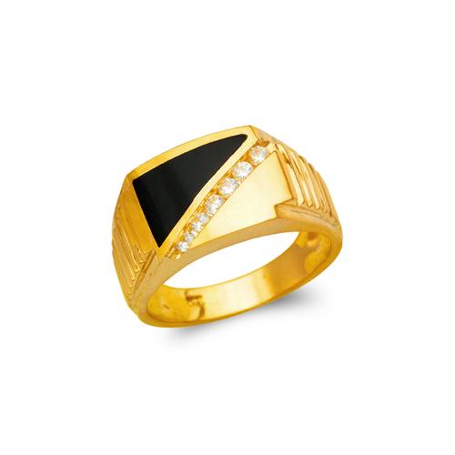576-315 Men's Full Cut Onyx Ring