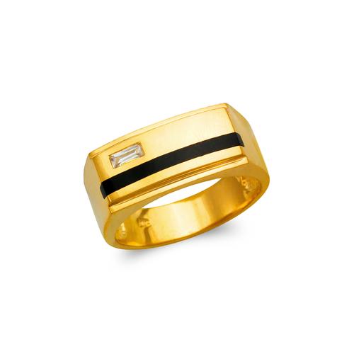 576-317 Men's Full Cut Onyx Ring