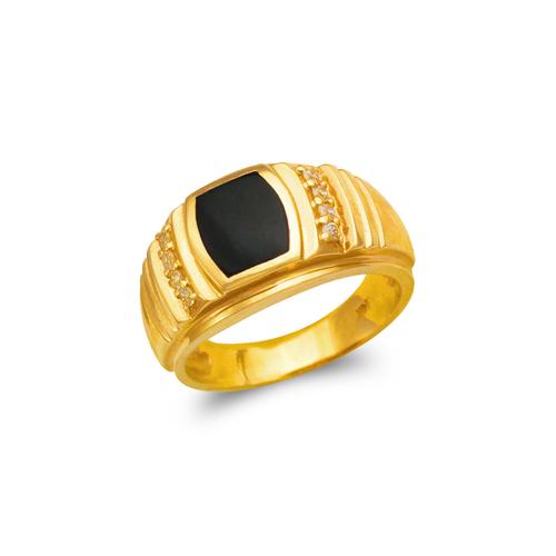 576-319 Men's Full Cut Onyx Ring